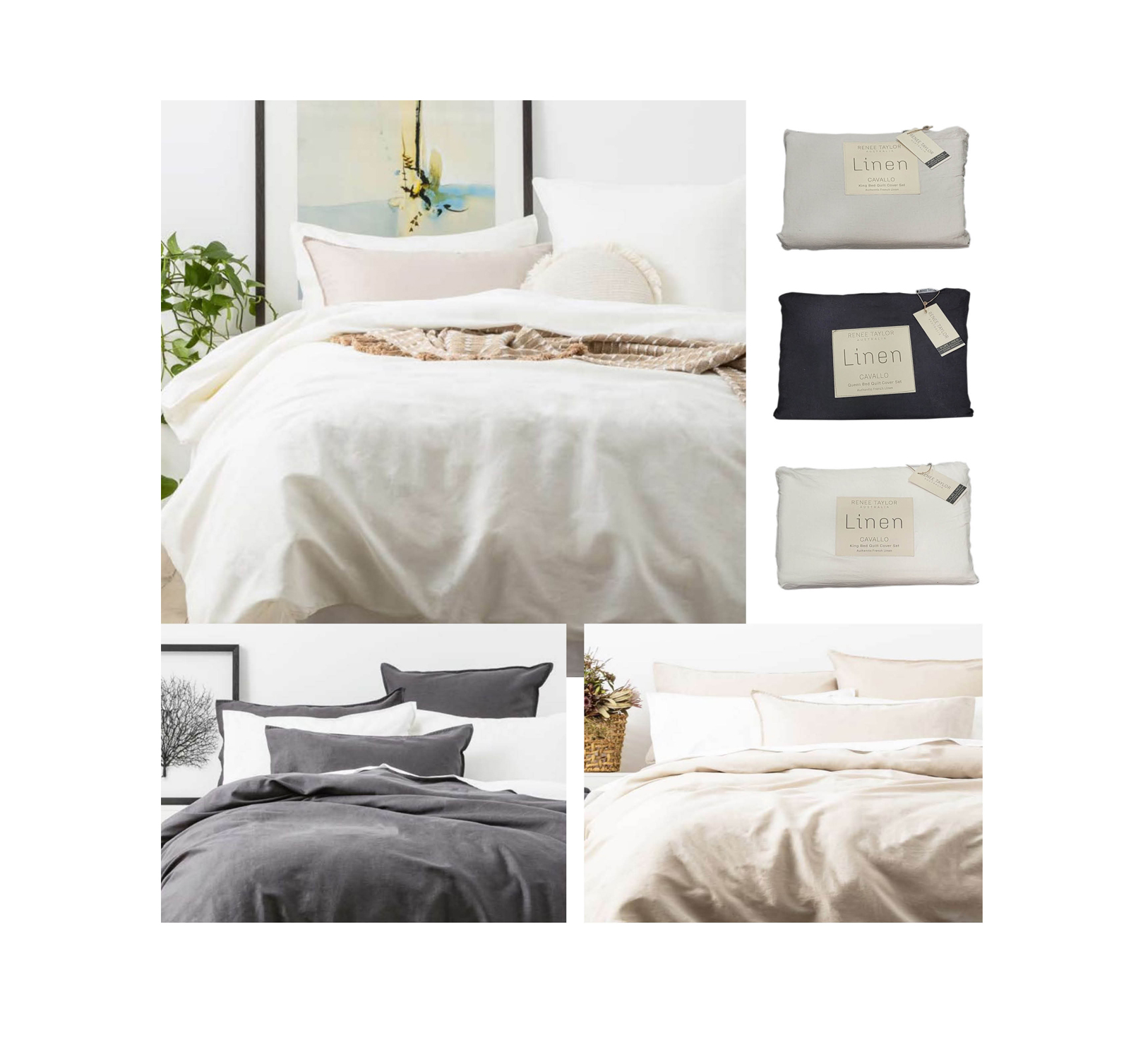 'Cavallo French Linen from